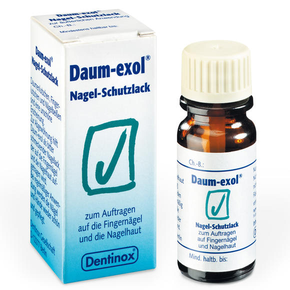 Daum Exol 防吸吮手指苦甲水  防咬手 幼儿指甲保护油 10ml 适合2岁以上